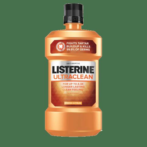 LISTERINE® ULTRACLEAN® FRESH CITRUS Antiseptic Mouthwash Image