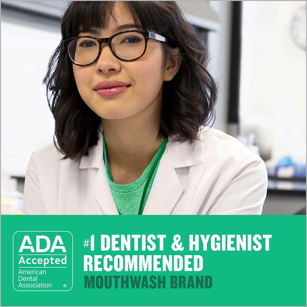 Listerine dentist recommended