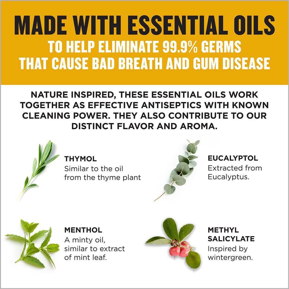 Listerine Original ecommerce essential oils