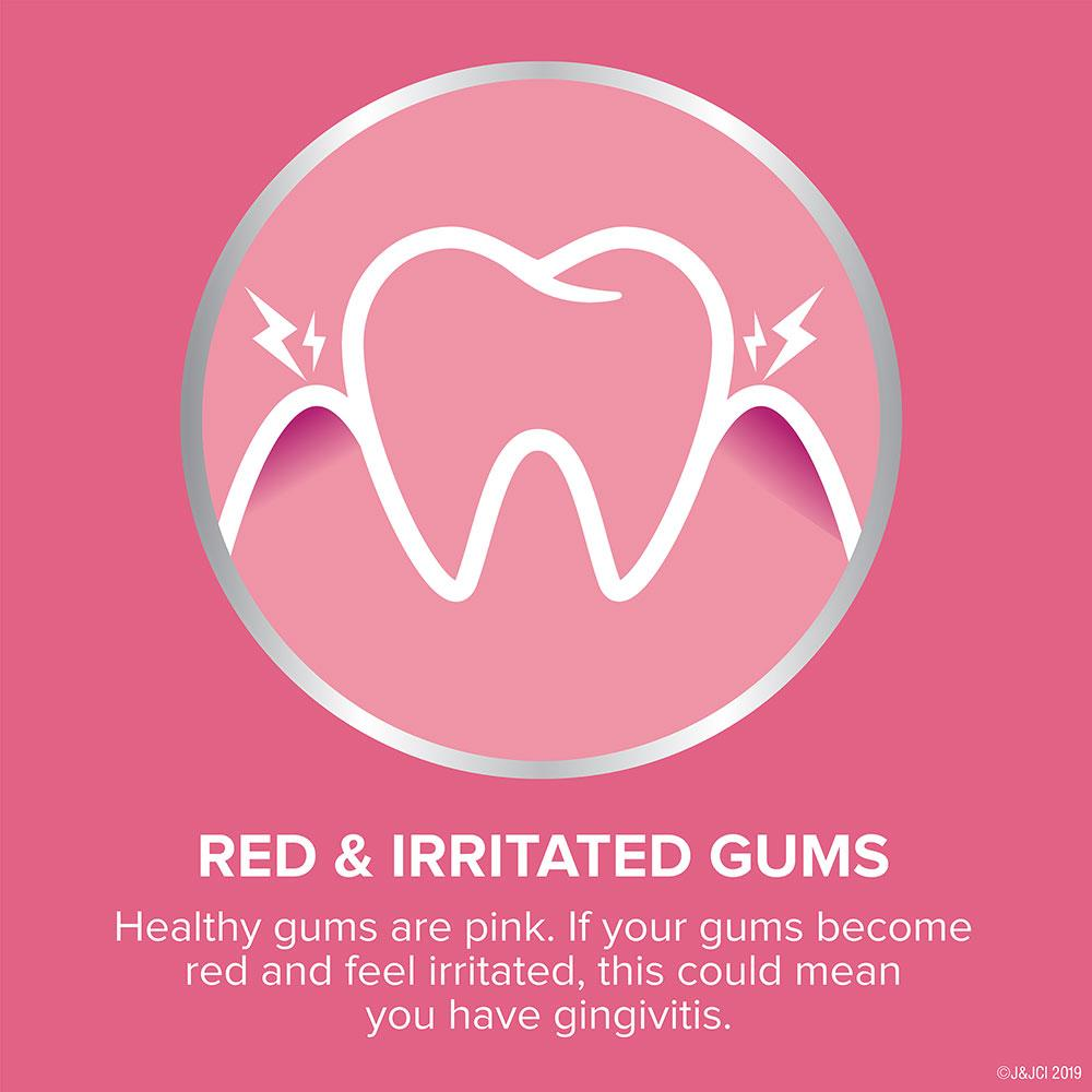 listerine gum therapy red and irritated gums