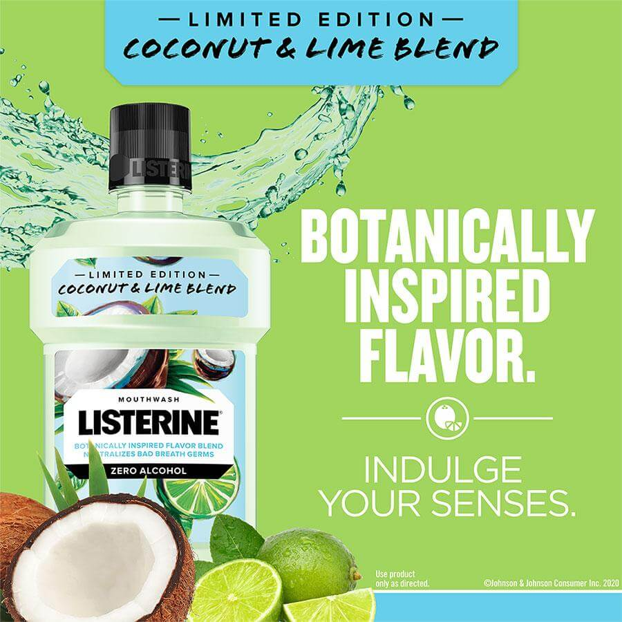 listerine coconut lime limited edition indulge your senses