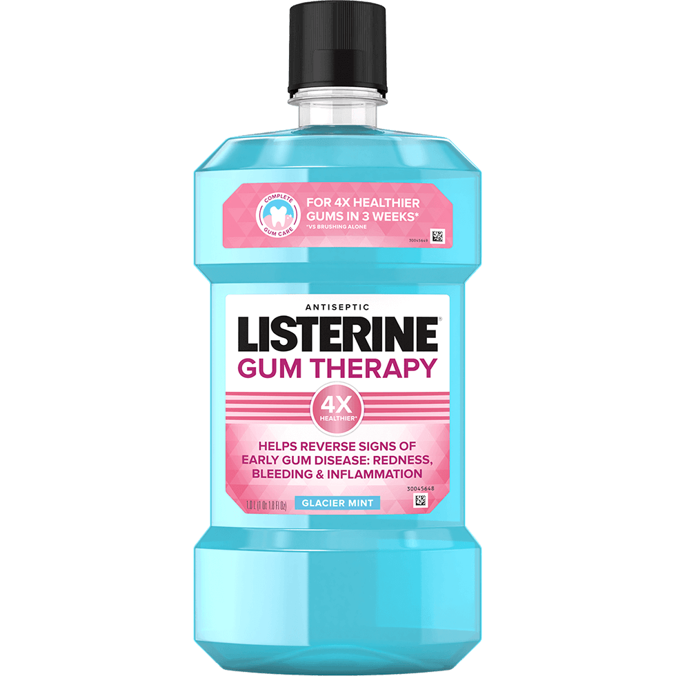 LISTERINE® Gum Therapy Antiseptic Mouthwash