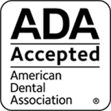 ADA Accepted American Dental Associate seal image