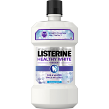 LISTERINE® Healthy White Vibrant Clean Mouthwash