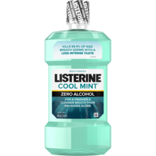 LISTERINE® COOL MINT® Zero Alcohol Mouthwash Image