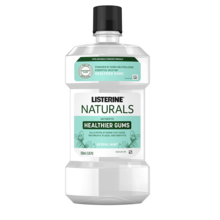 LISTERINE® NATURALS HERBAL MINT Fluoride-Free Mouthwash Product image