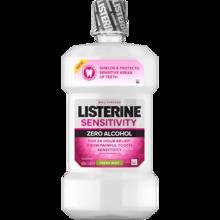 LISTERINE® Sensitivity Zero Alcohol Mouthwash