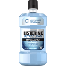 LISTERINE® ULTRACLEAN® ARCTIC MINT® Zero Alcohol Tartar Control Mouthwash Image